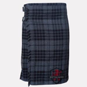 Highland Gray Tartan Kilt