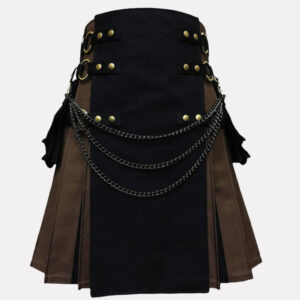 Tactical Hybrid Kilt Black And Brown