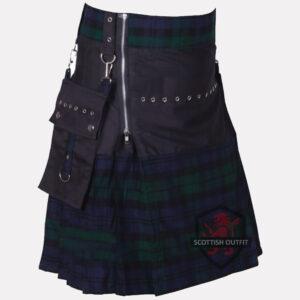 fashion-tartan-kilt-side