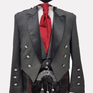 Prince Charlie Jacket Grey
