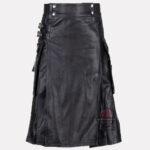 Black-Leather-Kilt