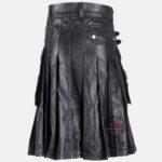 Black-Leather-Kilt-back