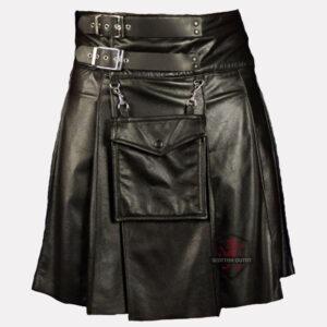 Fetish Leather Kilt