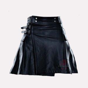 Leather Utility Kilt