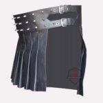 Mini-Studded-Leather-Kilt-side