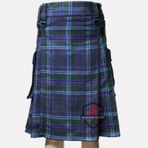 Spirit-Of-Scotland Tartan Utility Kilt