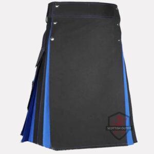 black-blue-hybrid-kilt-front