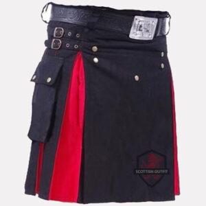 black-and-red-kilt