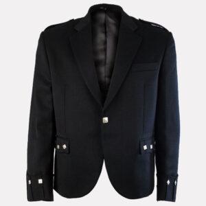 black-argyle-jacket