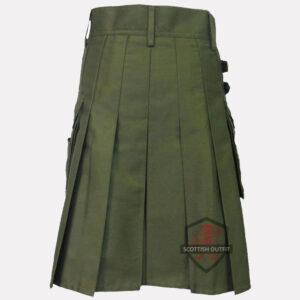olive-green-kilt-back