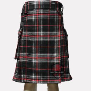 Spirit Of Highlander Tartan Utility Kilt