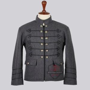 grey_wool_napolian_style_renaissance_military_zipper_jacket_for_men