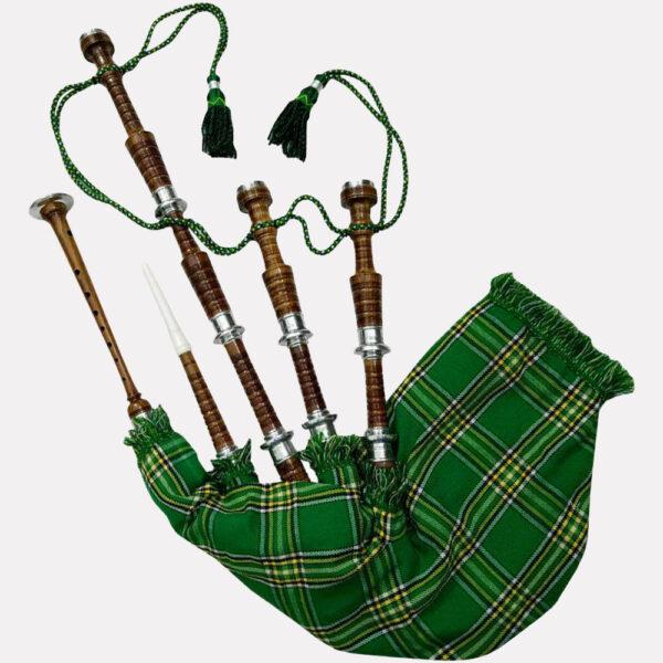 irish-national-tartan-bagpipe